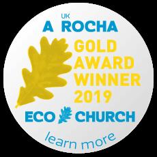 Eco Church Gold Award Winner 2019